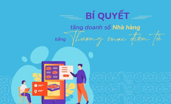 Bí quyết tăng doanh số nhà hàng nhờ sử dụng E-commerce