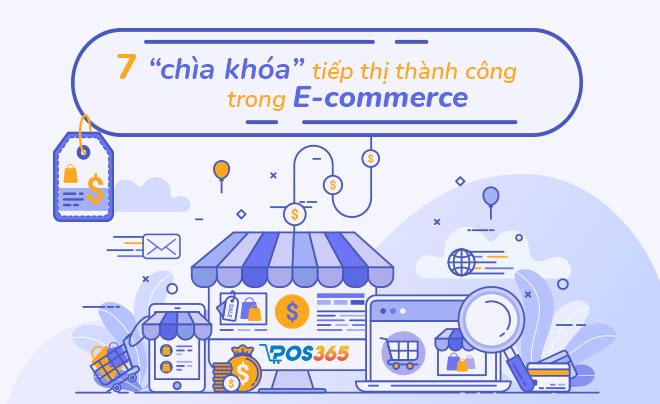 7 chiến lược tiếp thị thành công trong E-commerce