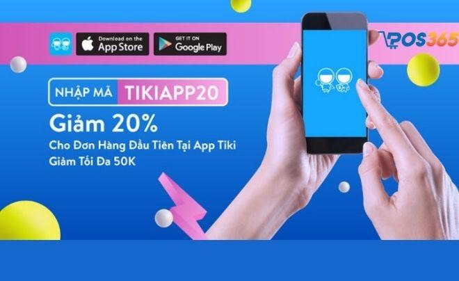 Mã giảm giá Tiki App