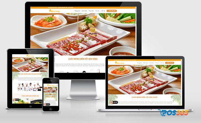 tiếp thị website nhà hàng