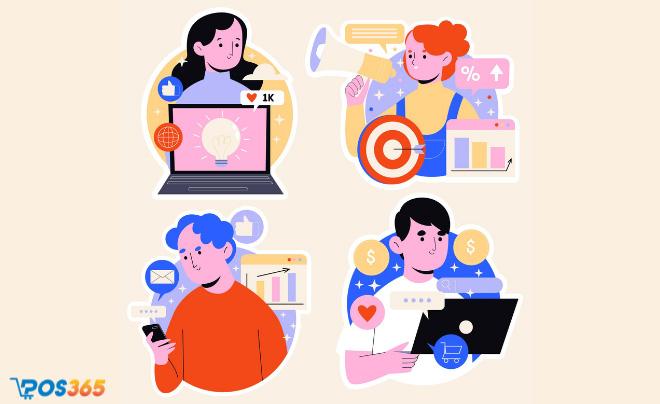 Thành phần trong mô hình Affiliate marketing