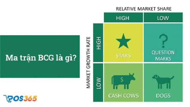 BCG Matrix là gì? Phân tích Ma trận BCG tăng trưởng hiệu quả