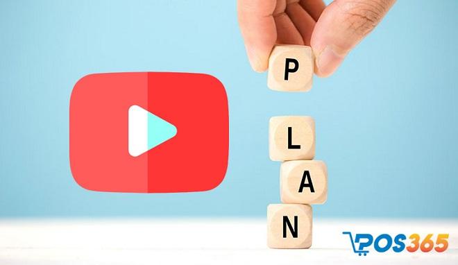 Lập kế hoạch cho kênh Youtube