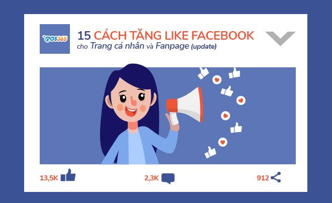 15 Cách tăng like Facebook miễn phí, hiệu quả nhất 2021