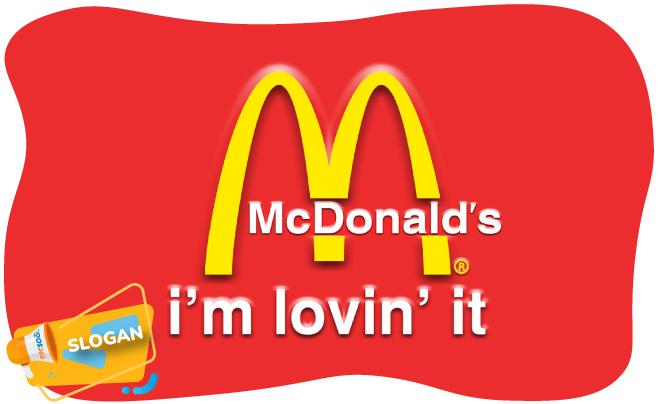 slogan McDonald's