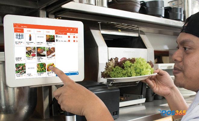 tăng tốc quá trình phục vụ nhà hàng