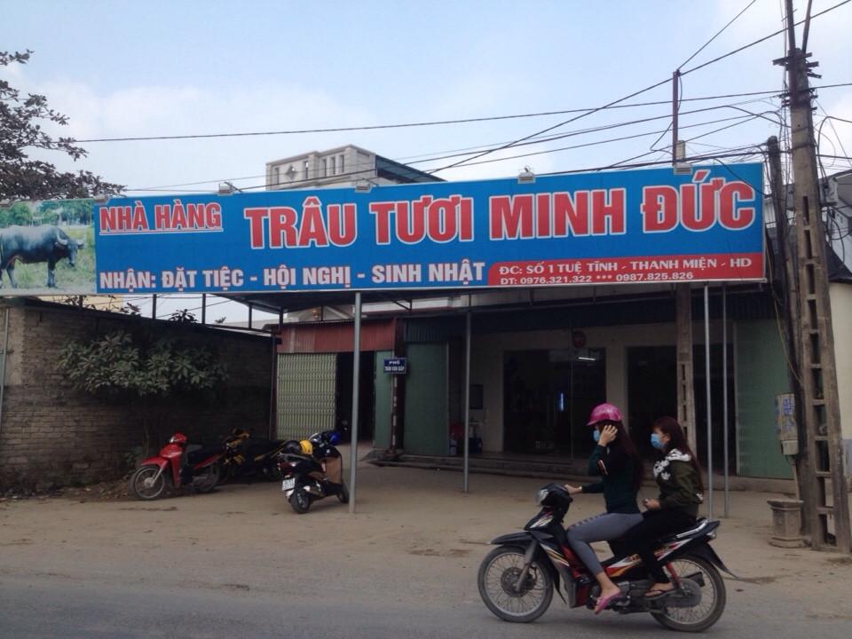 Nhà hàng trâu tươi Minh Đức