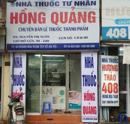 Nhà thuốc Hồng Quảng