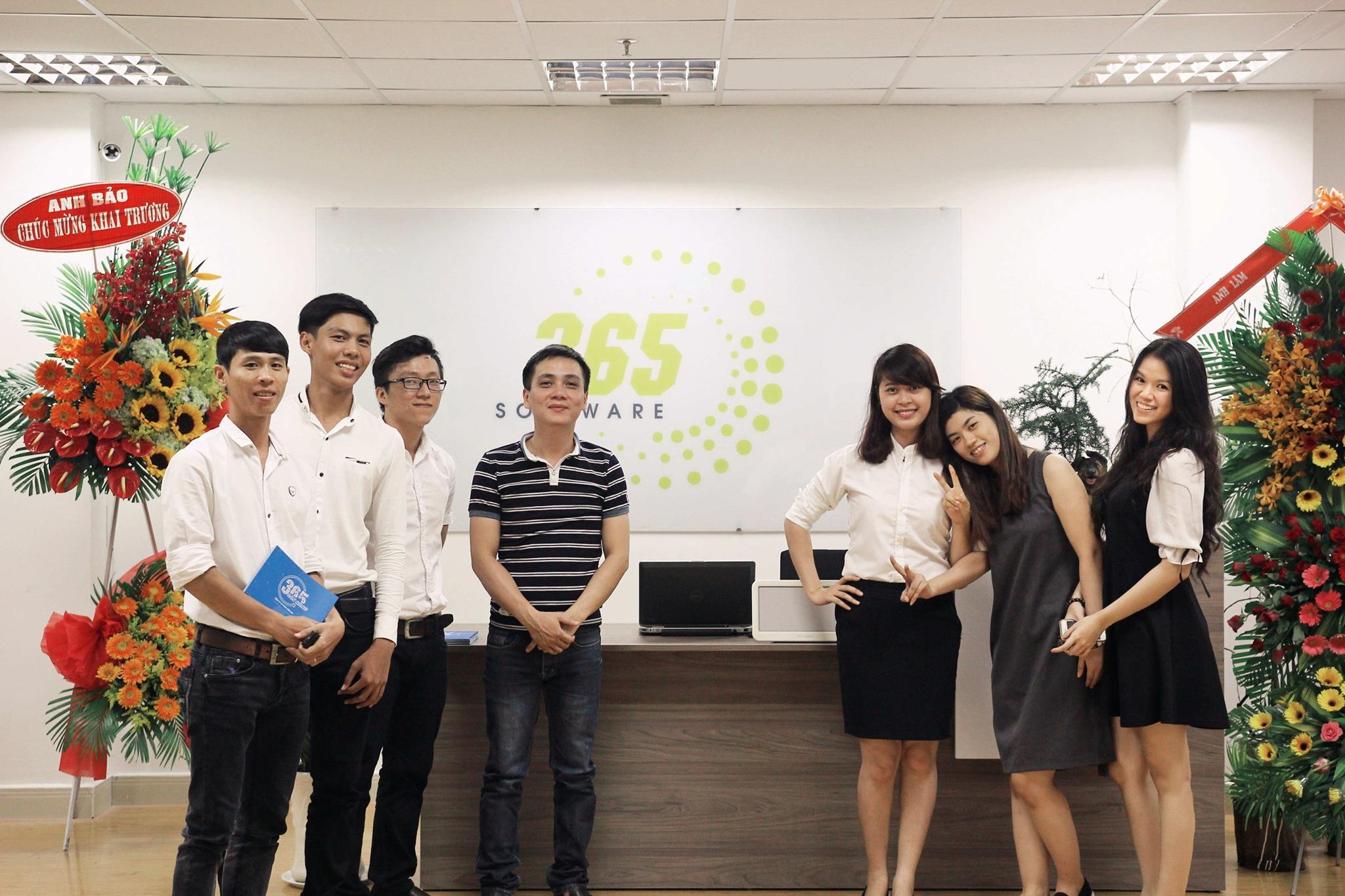 Phần mềm quản lý bán hàng 365 tưng bừng khai trương chi nhánh Sài Gòn