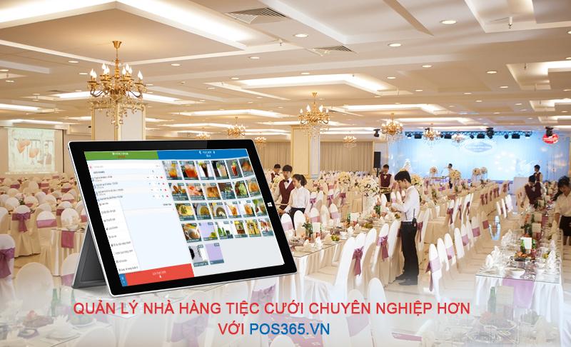 Phần mềm quản lý nhà hàng tiệc cưới