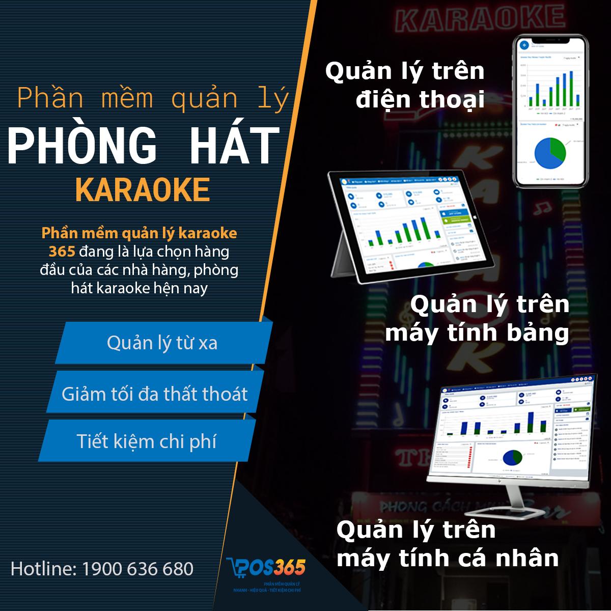Những lý do quý khách hàng nên lựa chọn phần mềm quản lý karaoke POS 365
