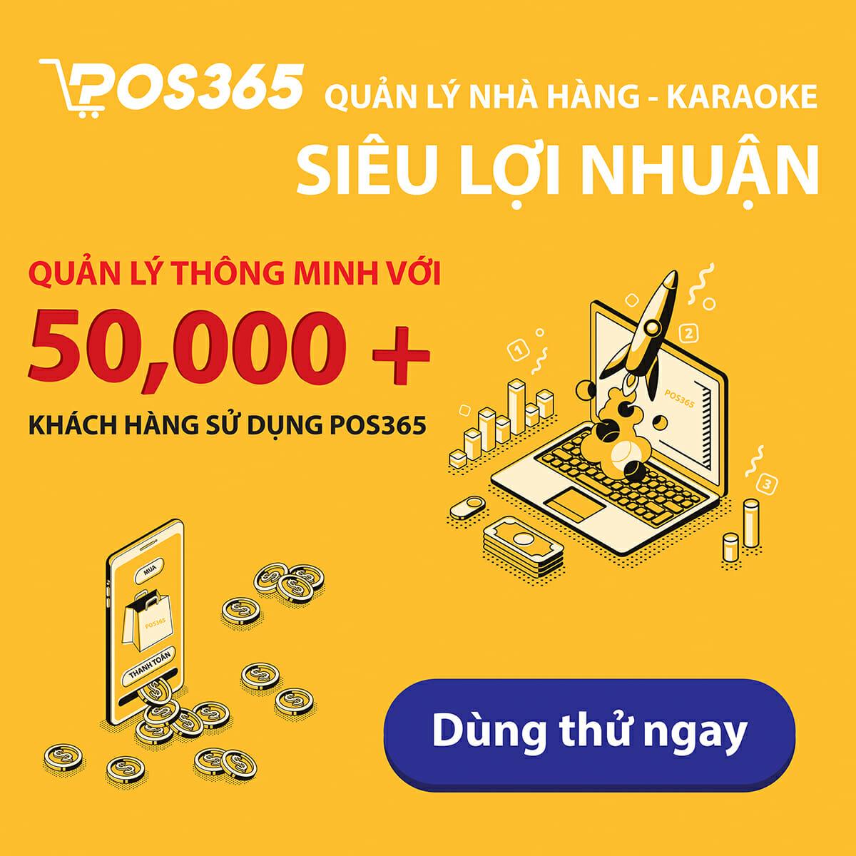 Sử dụng phần mềm quản lý bán hàng POS365 như thế nào?