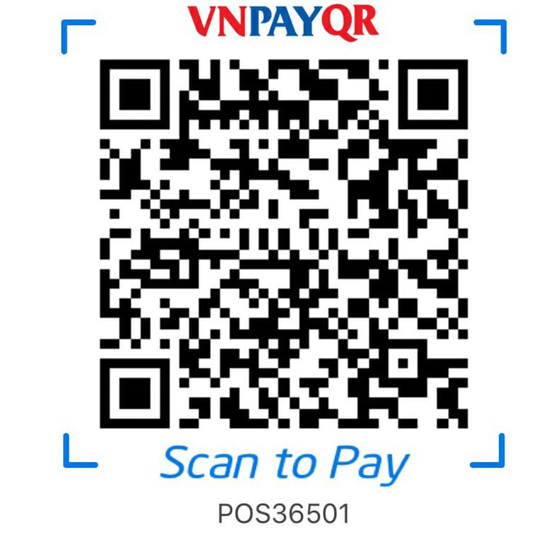 Giảm ngay 5% khi thanh toán bằng QR Pay