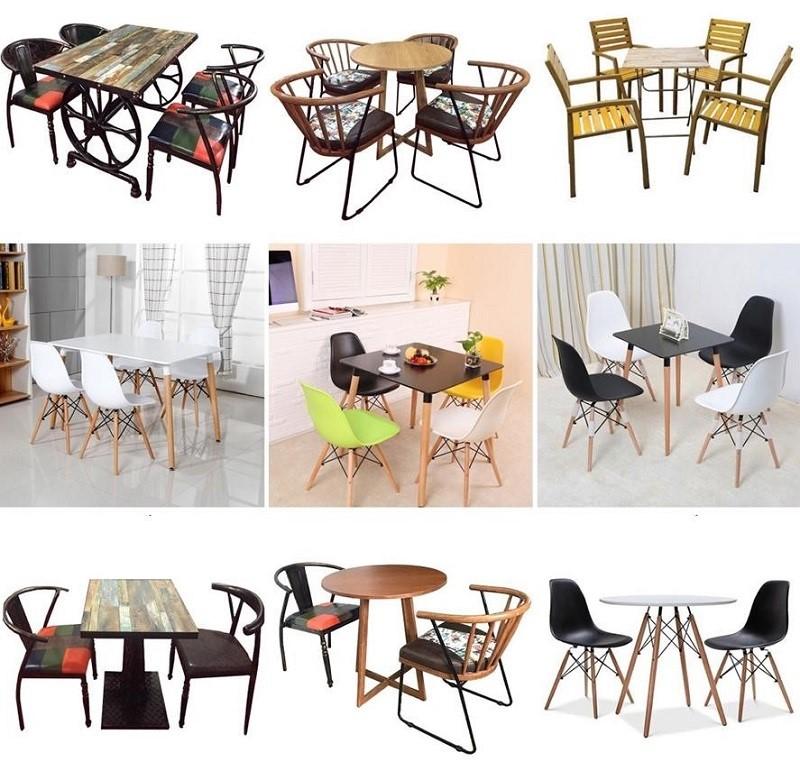 Những điều cần biết khi lựa chọn bàn ghế cho quán cafe