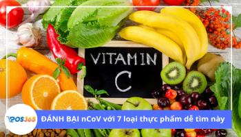 ĐÁNH BẠI nCoV với 7 loại thực phẩm dễ tìm này