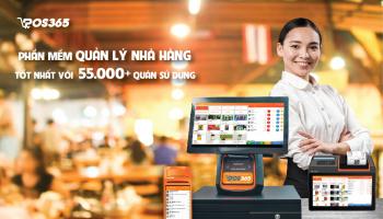 Phần mềm quản lý nhà hàng - quán ăn tốt nhất với 55.000+ quán sử dụng