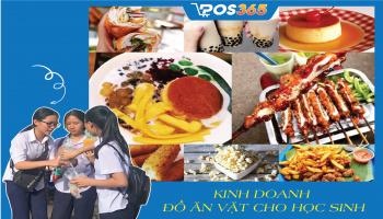 Bí quyết kinh doanh đồ ăn vặt cho học sinh