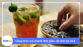 Công thức trà chanh đơn giản dễ làm tại nhà