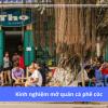 Kinh nghiệm mở quán cà phê cóc từ A đến Z