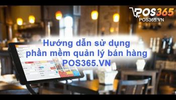Dùng thử miễn phí ngay phần mềm POS365