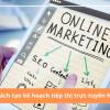 Cách tạo một kế hoạch tiếp thị trực tuyến hiệu quả