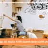Lập kế hoạch kinh doanh quán cafe thú cưng